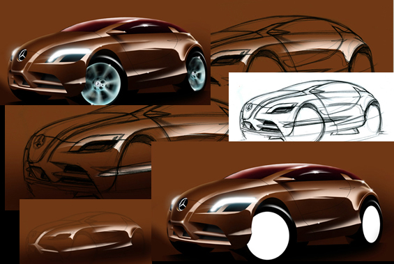 painting a car digitally - Photoshop Tutorial