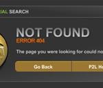 Innovative 404 Fehlerseiten